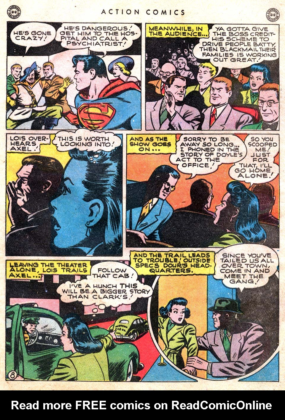 Read online Action Comics (1938) comic -  Issue #101 - 10