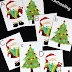 Christmas Letter Matching Cards for Preschoolers