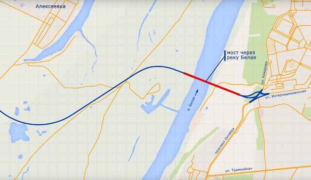 В Уфе появятся три моста