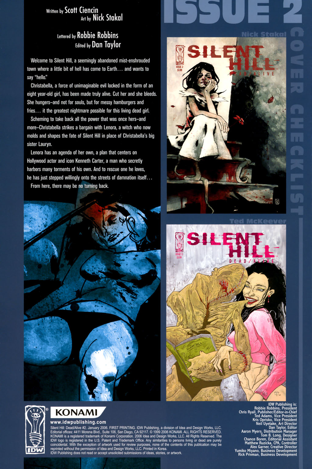 Read online Silent Hill: Dead/Alive comic -  Issue #2 - 3