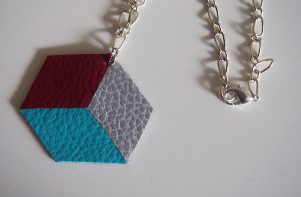 DIY : collier en simili-cuir
