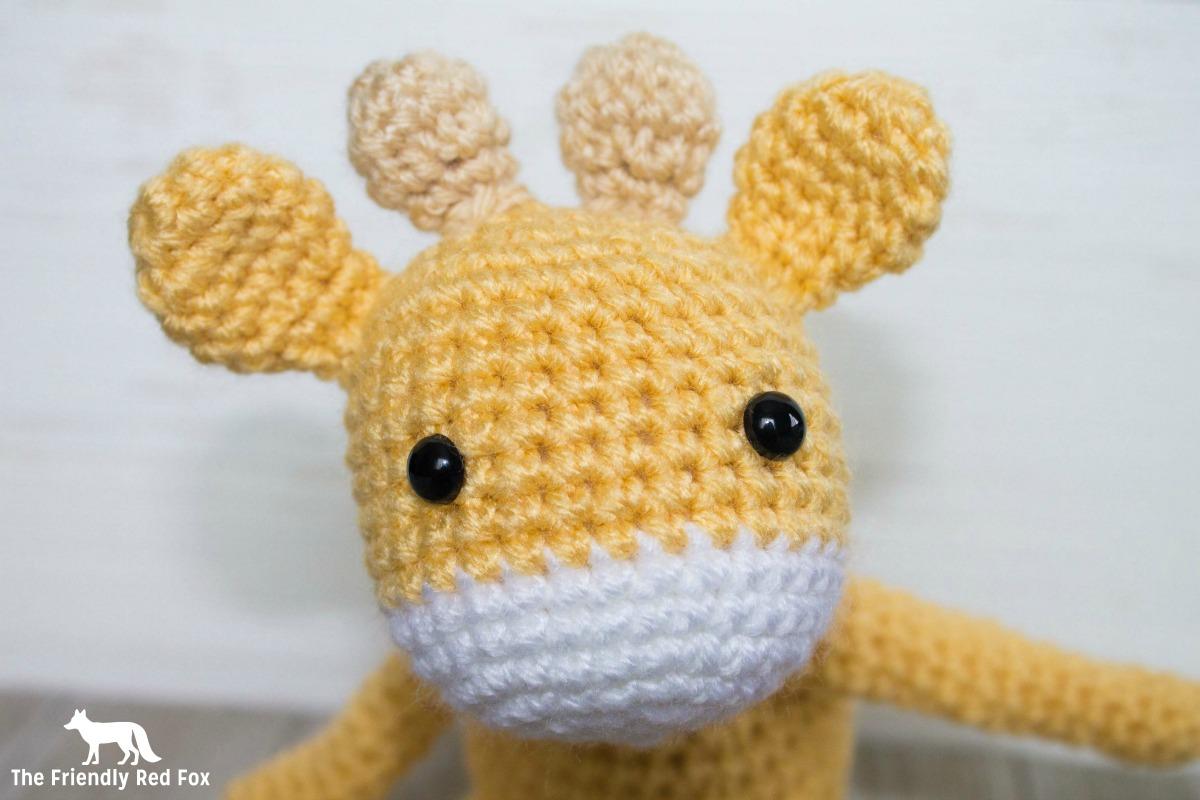 Free Crochet Pattern for The Friendly Mini Giraffe Part 2 ...