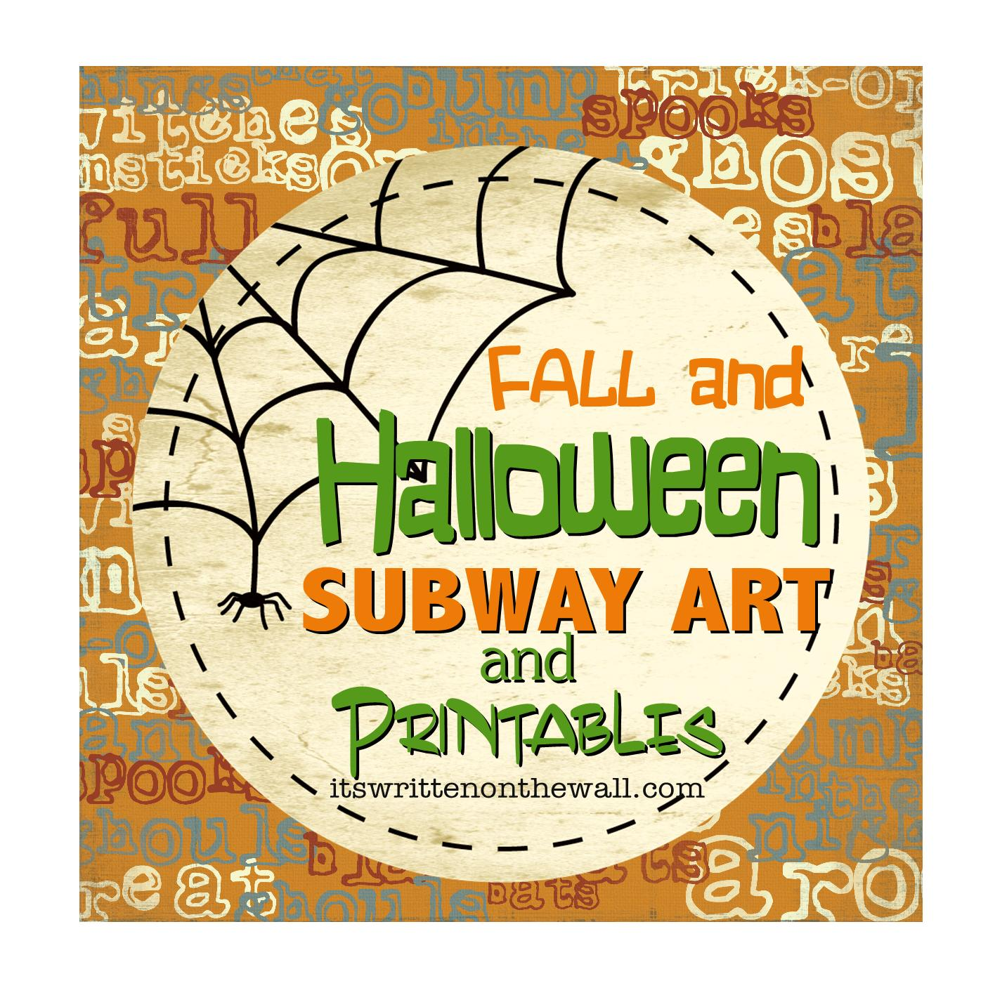 It\'s Written on the Wall: {Free Printables}Lots of Halloween and ...