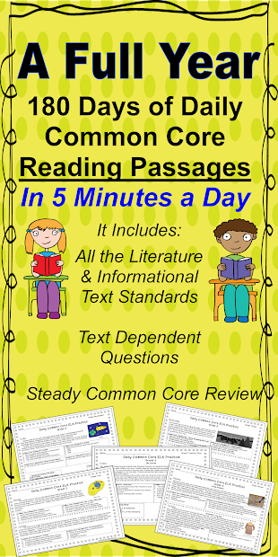 Literacy & Math Ideas Full School Year Of Daily Common