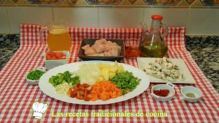 Receta de pechuga de pollo con verduras