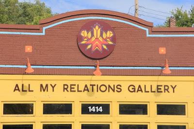 part of Minneapolis' American Indian Cultural Corridor