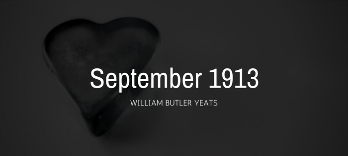 Analysis of William Butler Yeats' September 1913
