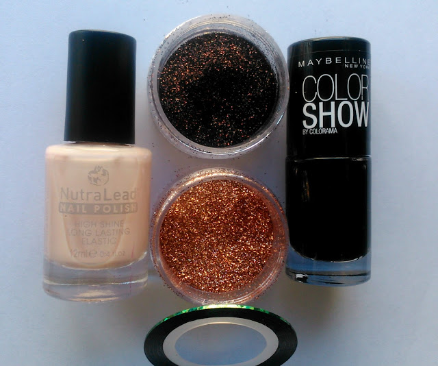 NutraLead Nail Polish 04 Maybelline Color Show Nail Polish Blackout
