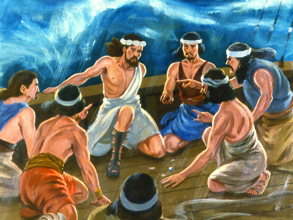 Sensing that the storm was no ordinary phenomenon, and that there was something supernatural involved, the sailors decided to cast lots to divine which of them was responsible for the calamity (Jonah 1:7).