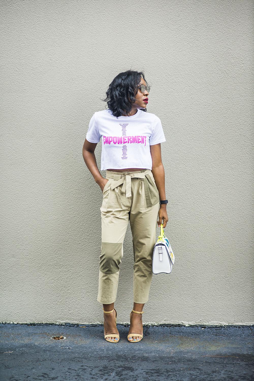 e86b29df97d Spring Trends: Khaki Pants & Graphic T-shirt - Titi's Passion