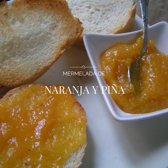 Mermelada de naranja y piña - Morrico Fino