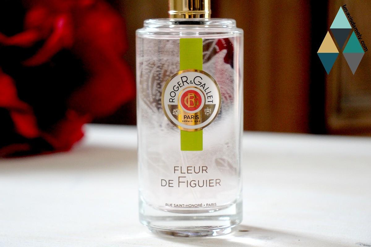 eau parfumée bienfaisante fleur de figuier roger et gallet avis