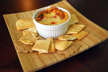 Roasted Tomato Pizza Dip | by Life Tastes Good is addicting! Be warned! Fights have been known to happen over this stuff! #Italian #Appetizer #Dip