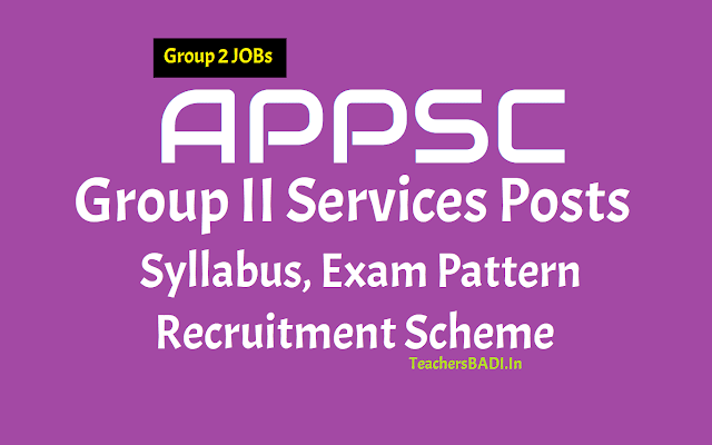 appsc group ii services posts,selection process,scheme of selection,exam pattern,exam scheme,syllabus,direct recruitment,group-ii exam papers,group ii exam syllabus