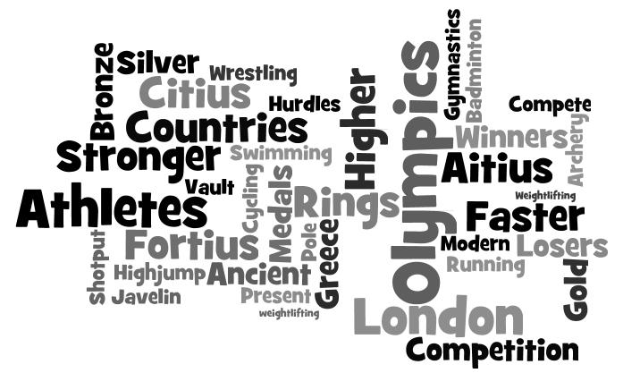 Teagan : My Olympic Wordle: By Teagan