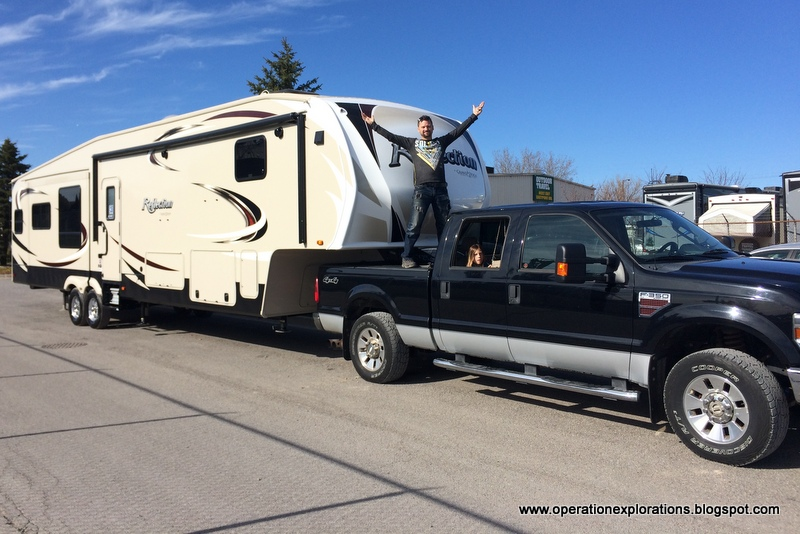 Operation Explorations Our New Reflection Fifth Wheel 367bhs By