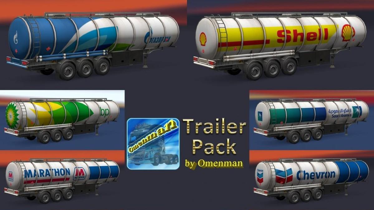 Fuel Trailers Pack v 1.02.00