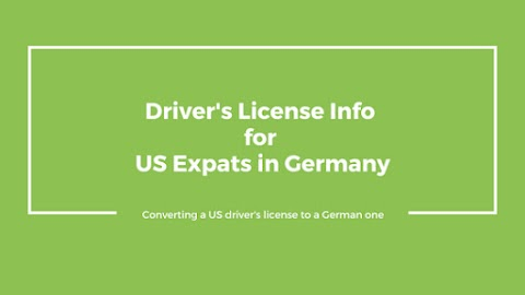 Driver's License Information for US Expats in Germany