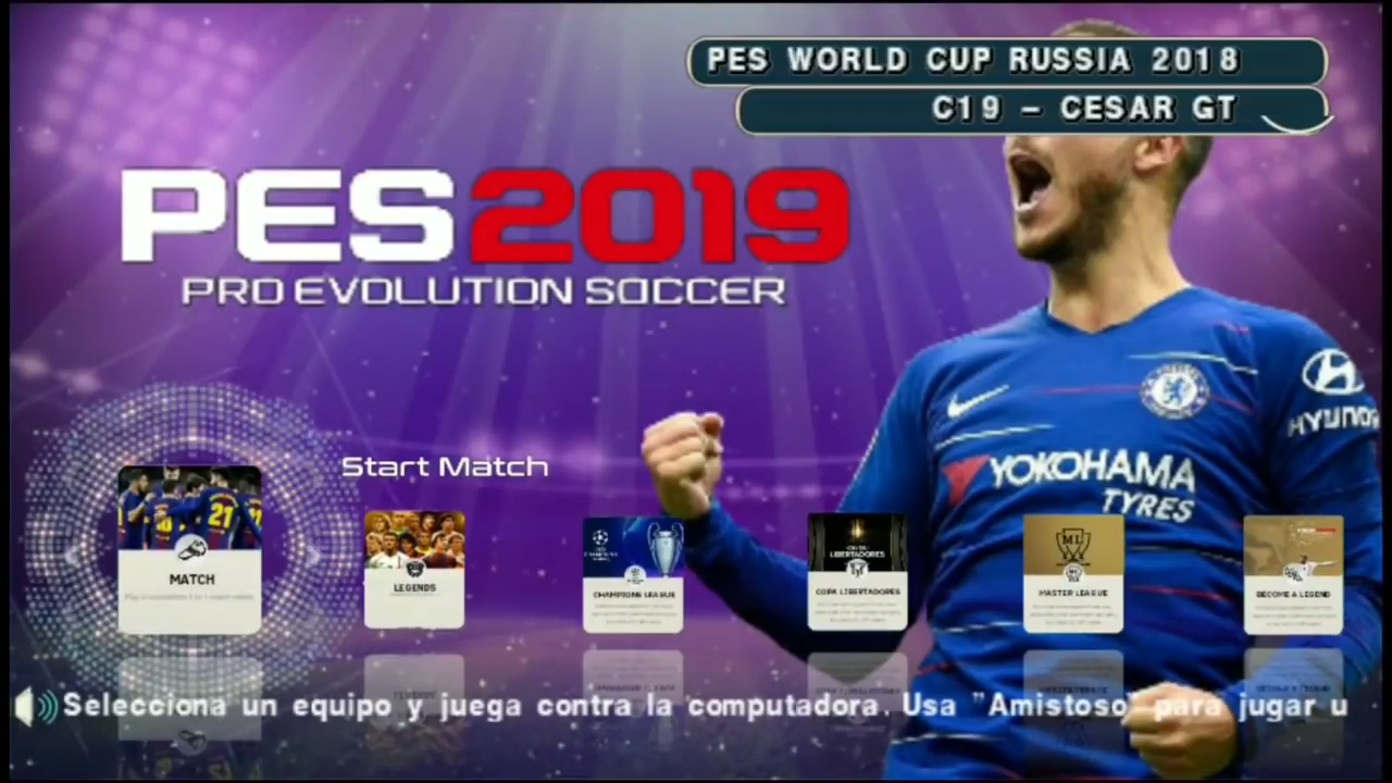 Fifa 18 mod pes 2019