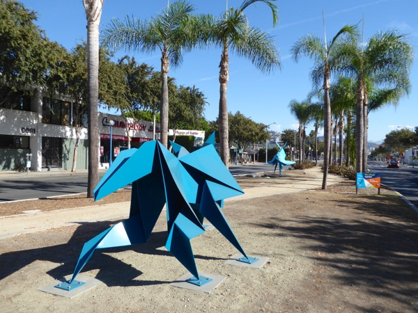 Chase Hacer West Hollywood sculptures