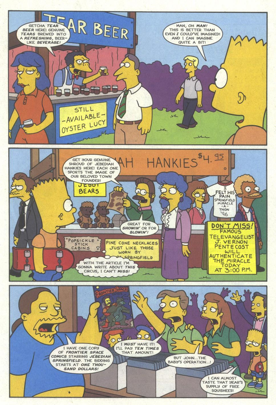 Read online Simpsons Comics comic -  Issue #19 - 14