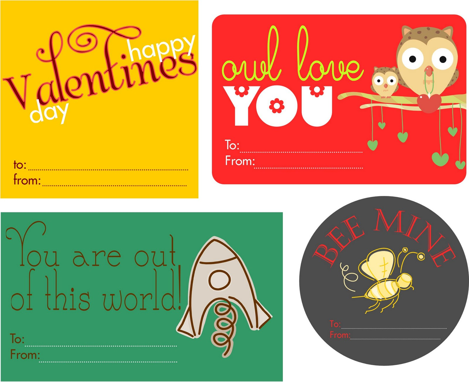 Embellish Free Printable Valentines Day Tags