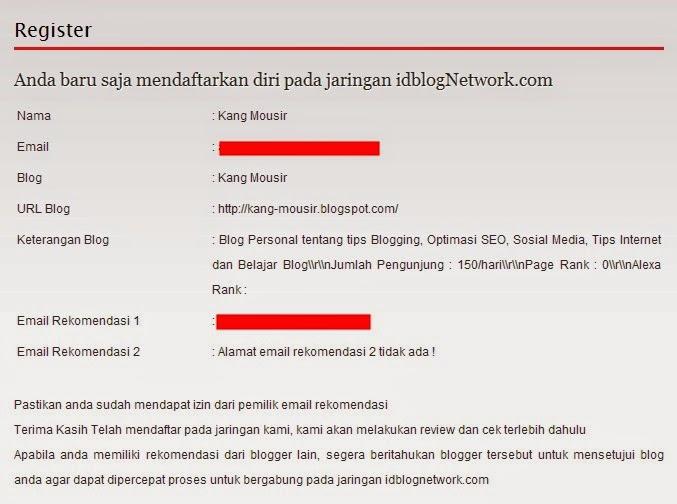 Notifikasi IdBlogNetwork