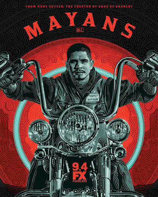 Mayans M.C. Television Poster Artist Series by FX Networks