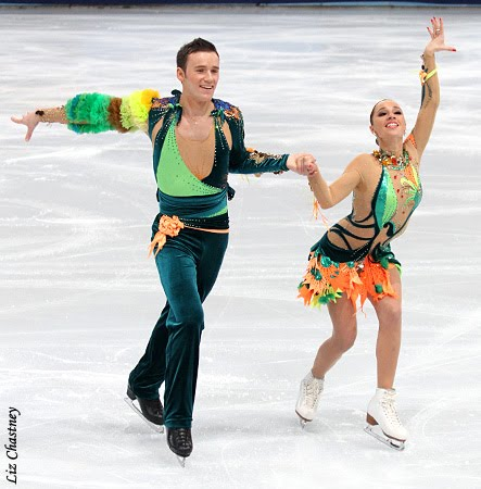 Figure Skating Fashion Minute Trophee Eric Bompard The Ice Dance Costumes Fashion Design