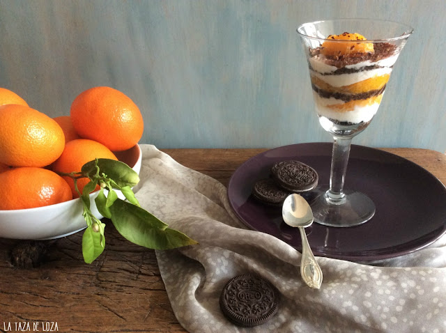 Copa-de-mandarinas-ricotta-galletas-oreo