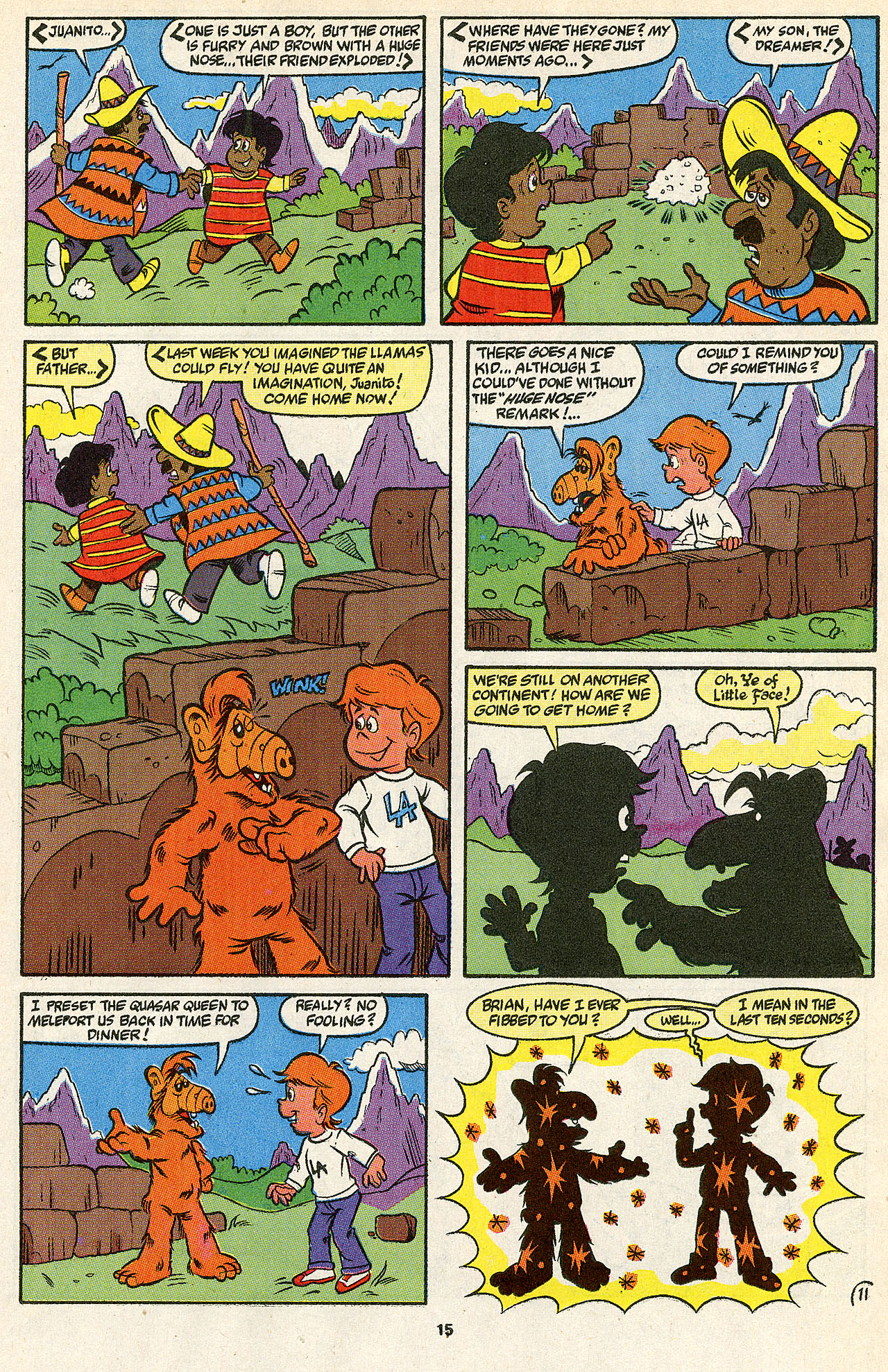 Read online ALF comic -  Issue #39 - 17