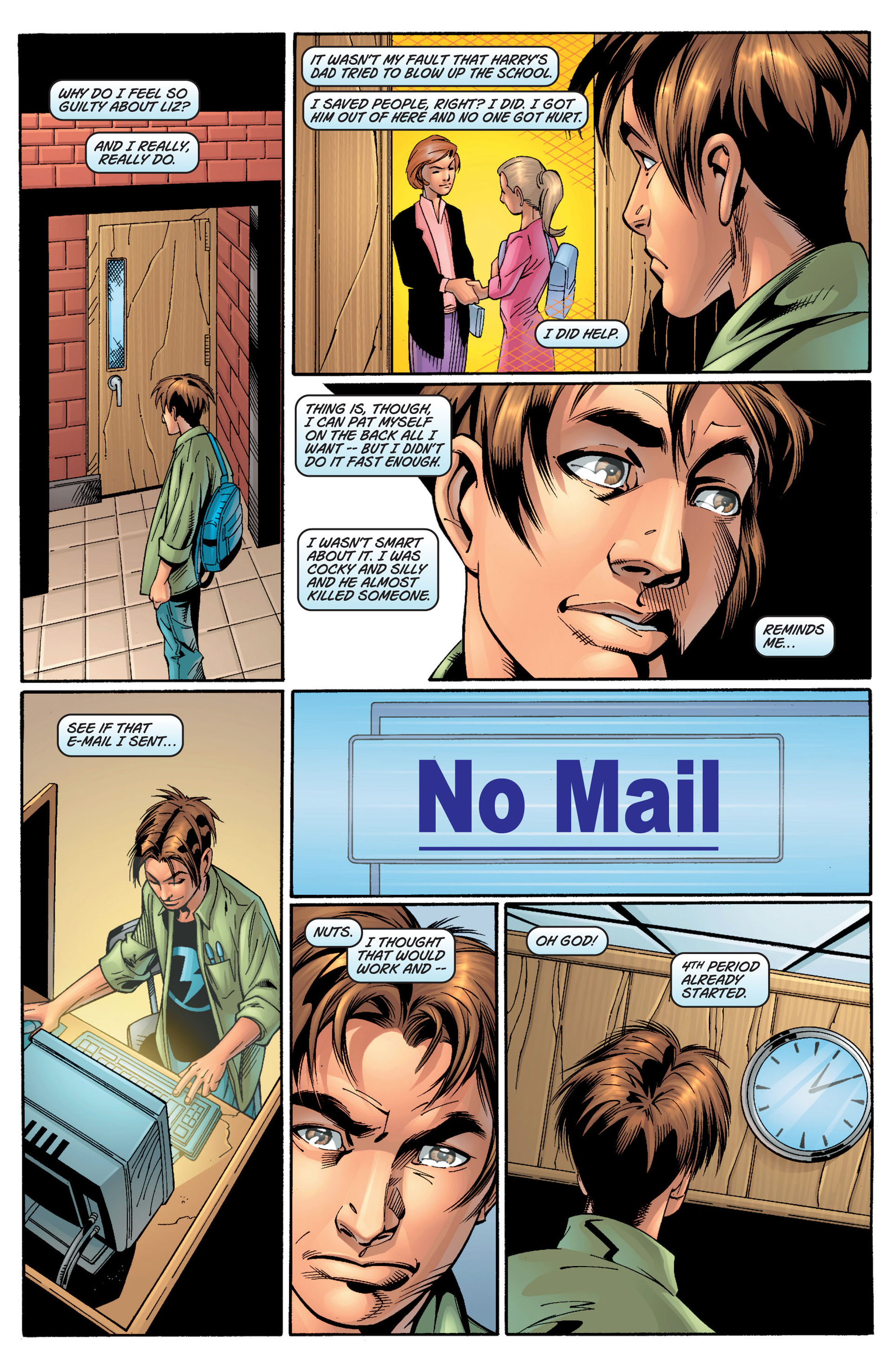Read online Ultimate Spider-Man (2000) comic -  Issue #11 - 8
