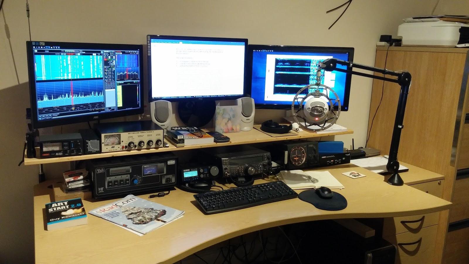 Ham Radio Station G6WPJ: Station Equipment