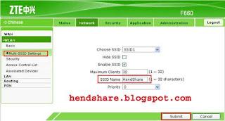 Cara Ganti Nama dan Password Wifi Indihome Modem Zte F660 dengan Smartphone