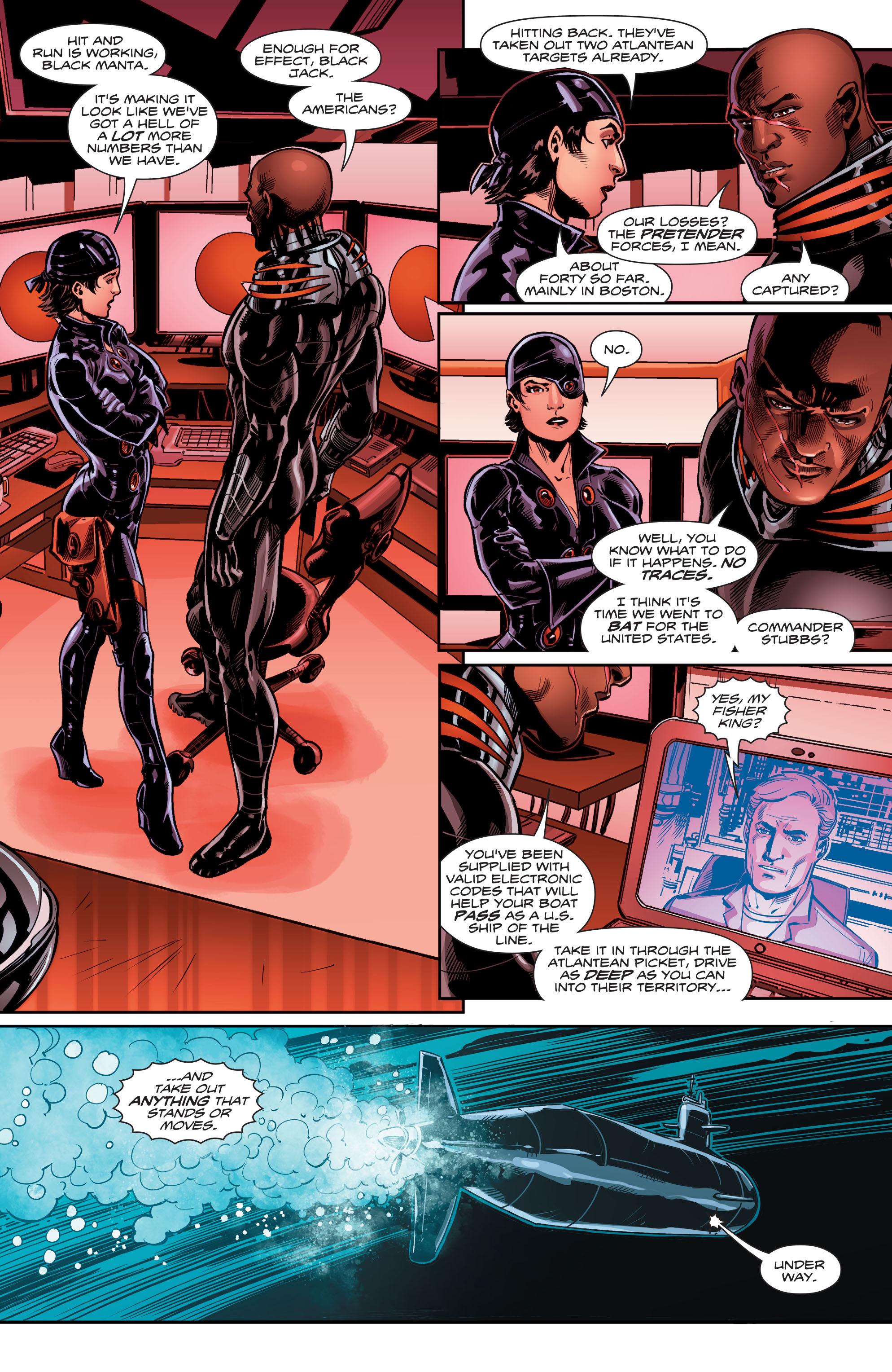 Read online Aquaman (2016) comic -  Issue #12 - 21