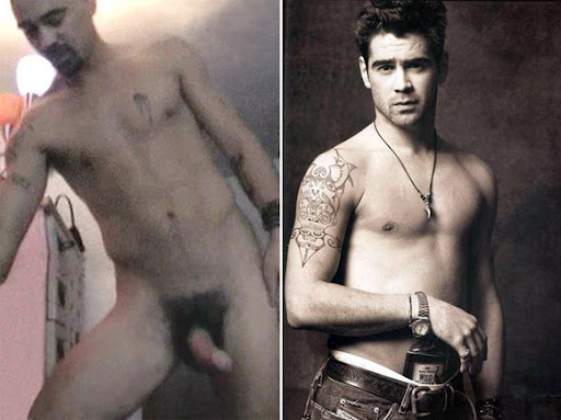 OMG, he was naked: Colin Farrell