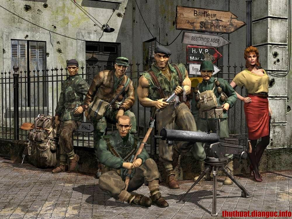 Download game Commandos 2 Full Crack
