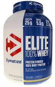 Dymatize Nutrition Elite Whey Protein Powder.