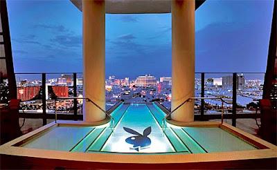 Hugh Hefner's Sky Villa
