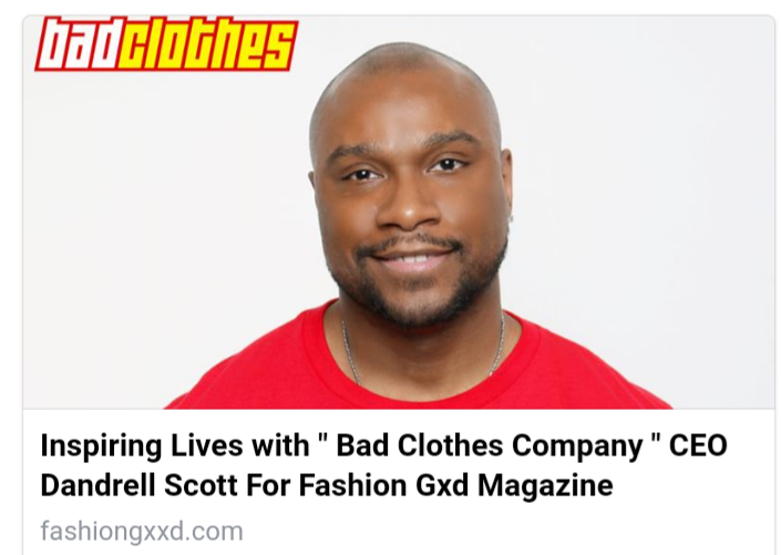 PRESS: Fashion Gxd Magazine Talks to Bad Clothes Company's CEO