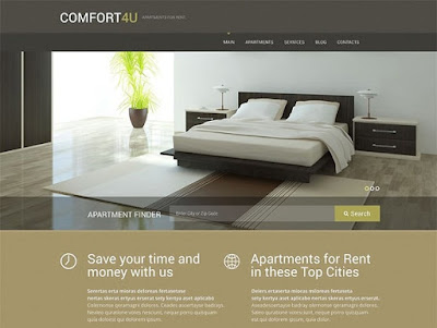 Comfortable Apartments WordPress Theme