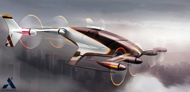مشروع إنشاء طائره ذاتية القياده من شركة Airbus