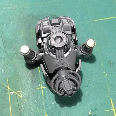 Titanicus WIP Reaver Titan Arm Magnets