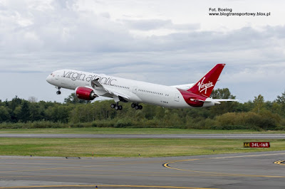 Boeing 787-9, G-VNEW, Virgin Atlantic Airways