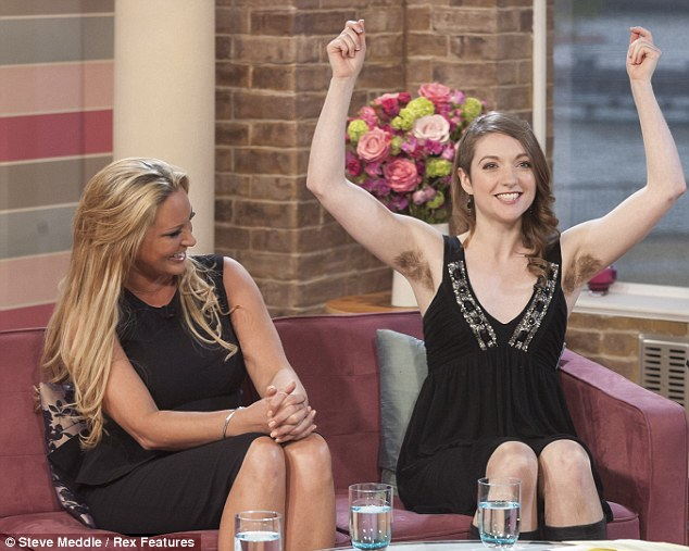 Emer O'Toole is furry and proud as she defends her decision to stop  removing her body hair on This Morning