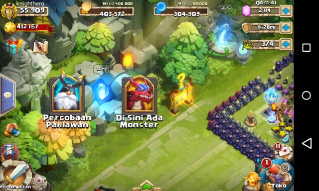 Inilah Pesaing Game COC - Castle Clash, Game Strategi Perang