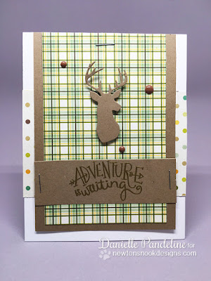 Adventure Awaits | Newtons Nook Designs | Card Created by Danielle Pandeline