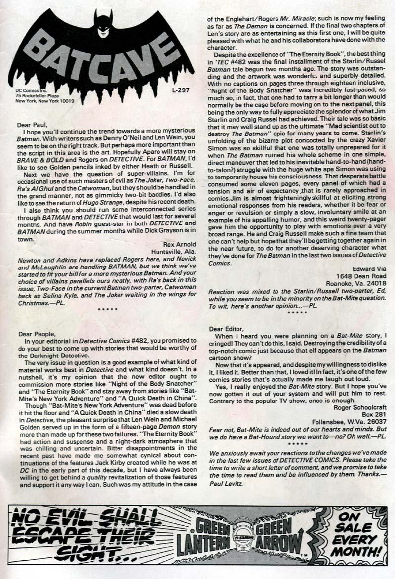 Detective Comics (1937) 485 Page 66