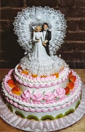 Gay Cross-dress wedding cake