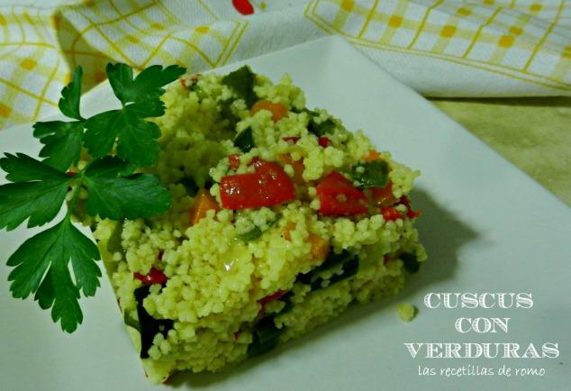 """""""Cuscus con verduras"""""""
